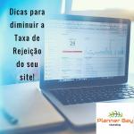 taxa de rejeiçao sites planner bay