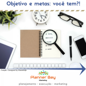 objetivo metas planejamento marketing