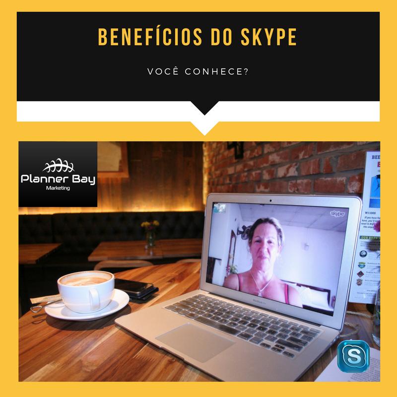 comunicação reunião skype