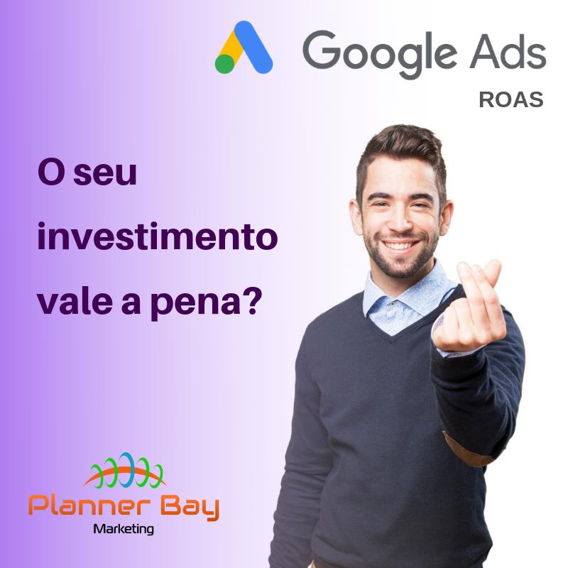 retorno investimento anuncio Google ROAS
