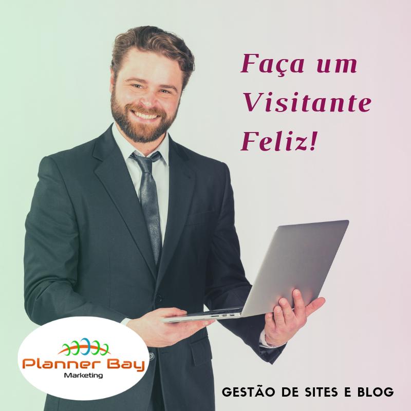 o que é gestão de sites e blogs