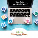 gestão de sites ou de redes sociais