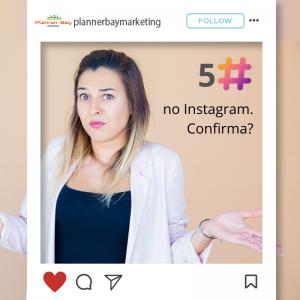 quantas hashtags usar em posts no Instagram