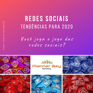 tendências em redes sociais para 2020