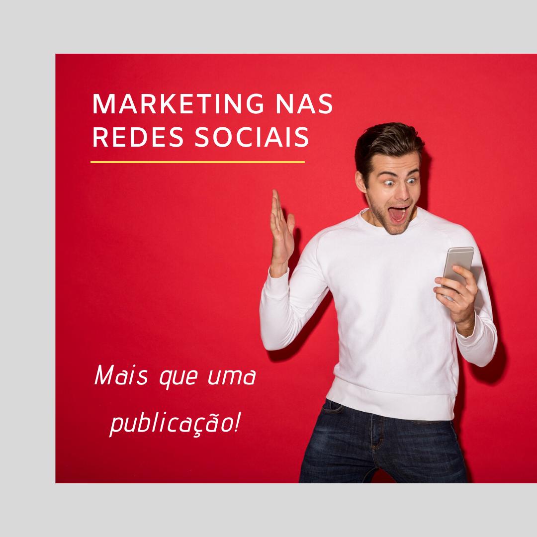 marketing nas redes sociais mais que uma publicação